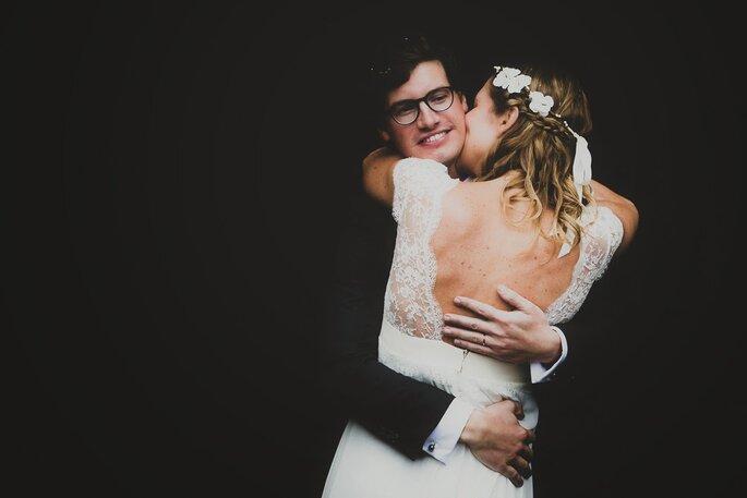 Une adorable mariée c'est plus sympa - Annie Gozard Photographe