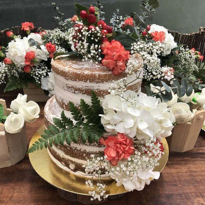 Foto: Mimeti Pastelería - Naked Cake