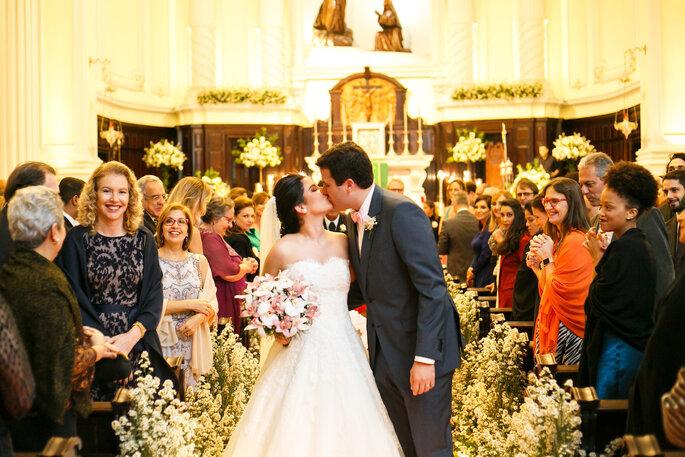 Casamento tradicional na igreja
