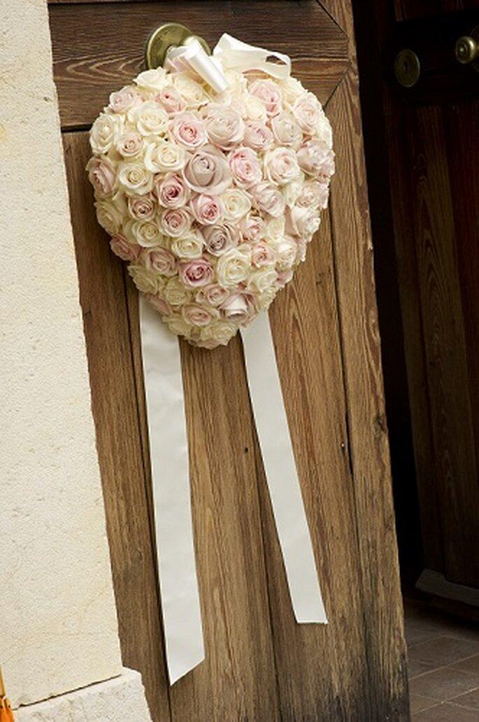 Einzigartige Blumendekoration