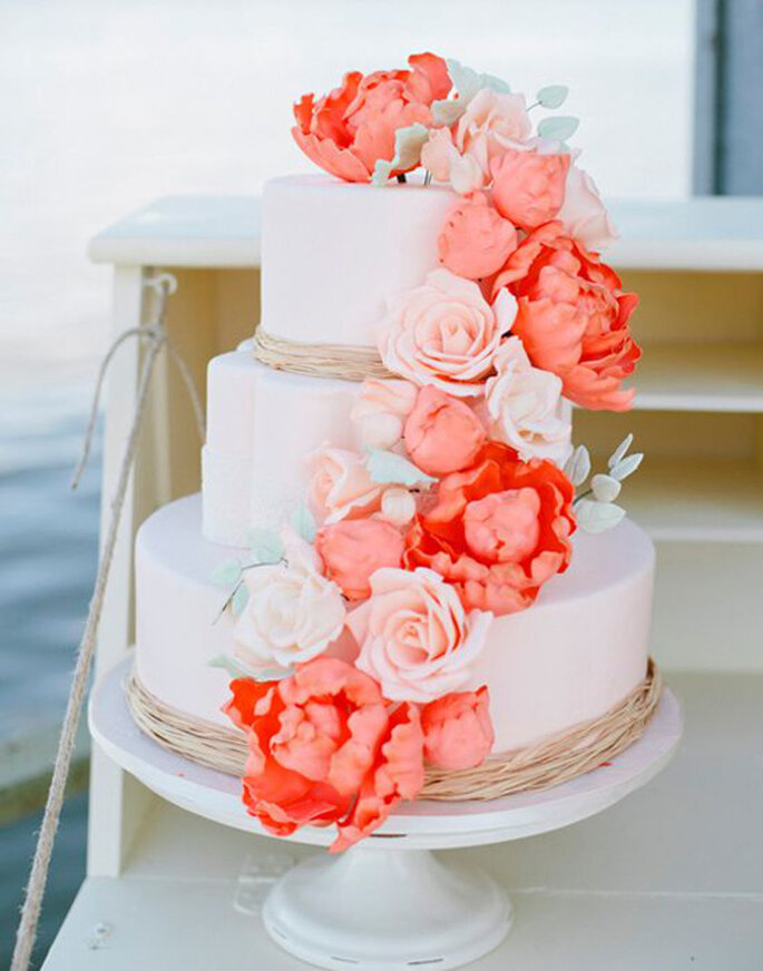 Weddingcake - Foto by Pinterest by Weddingchicks