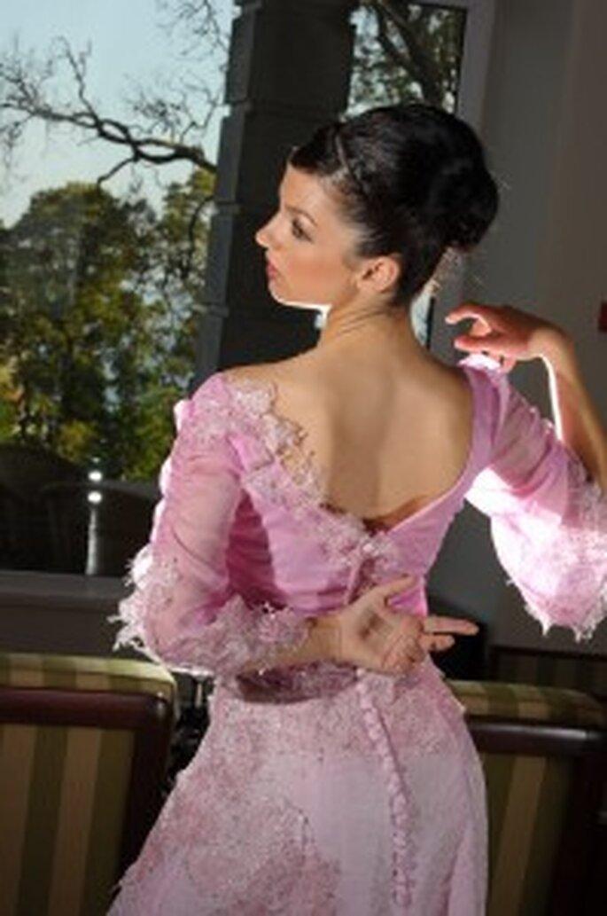Vestidos de Noiva Cor de Rosa - Olga Cardoso Pinto