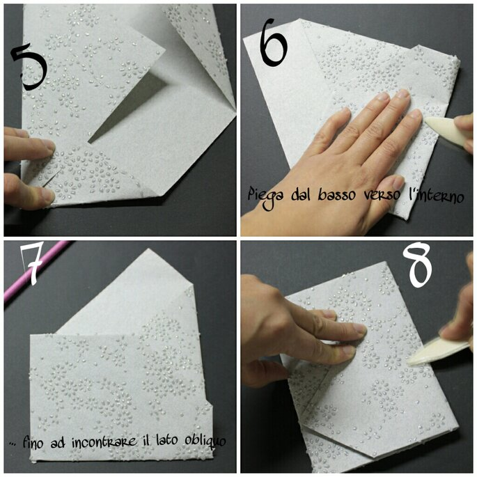 Conosciuto Tutorial per partecipazioni di nozze in origami: fai da te è bello! LZ39