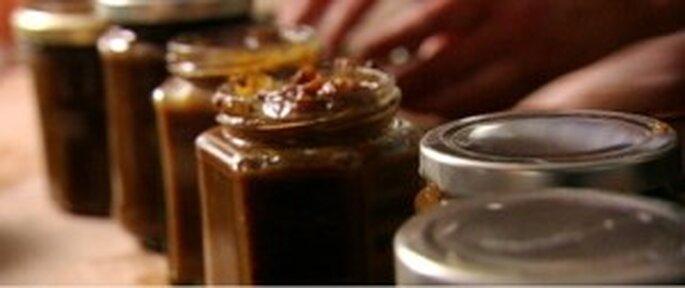 Salsas en vistosos frascos