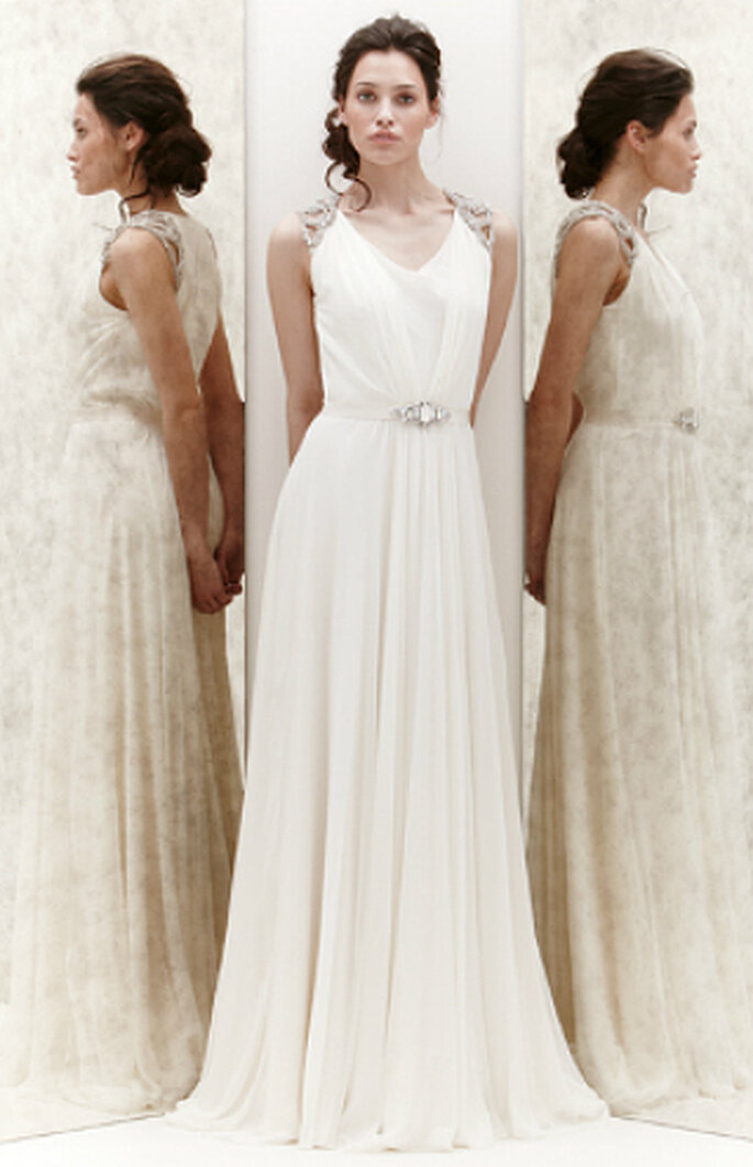 Brautkleider Empire Stil | Brautkleider Im Empire Stil 2013 Brautkleider Hochzeitskleid