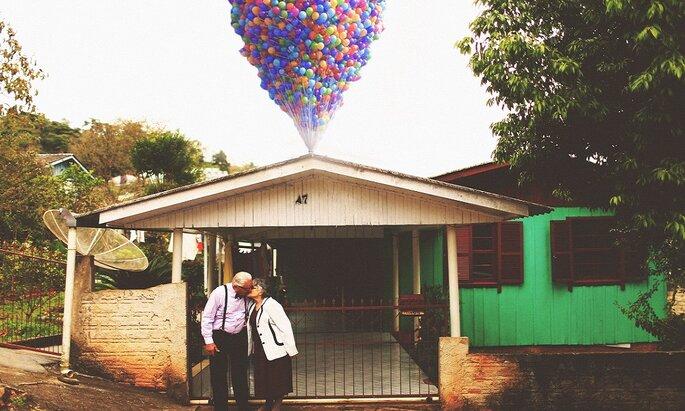 ensaio fotográfico casal idoso