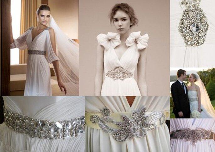 Complementos de novia con todo el glamour de los años 20