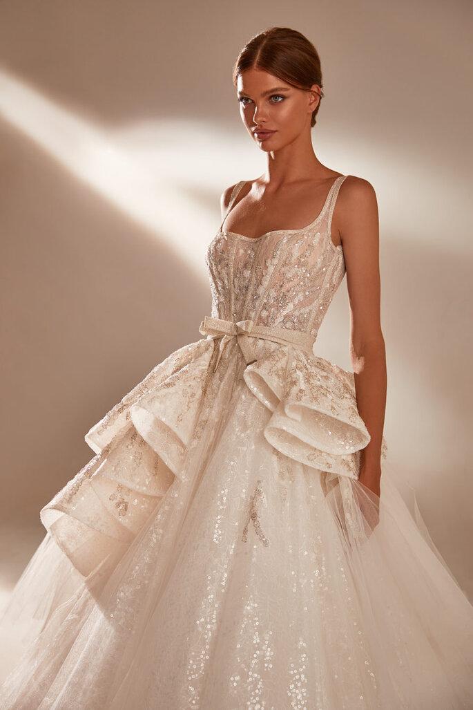 Robe de mariée empire princesse