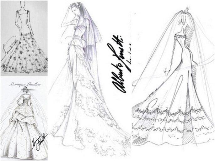 Desenhe Seu Vestido De Noiva Em 2011