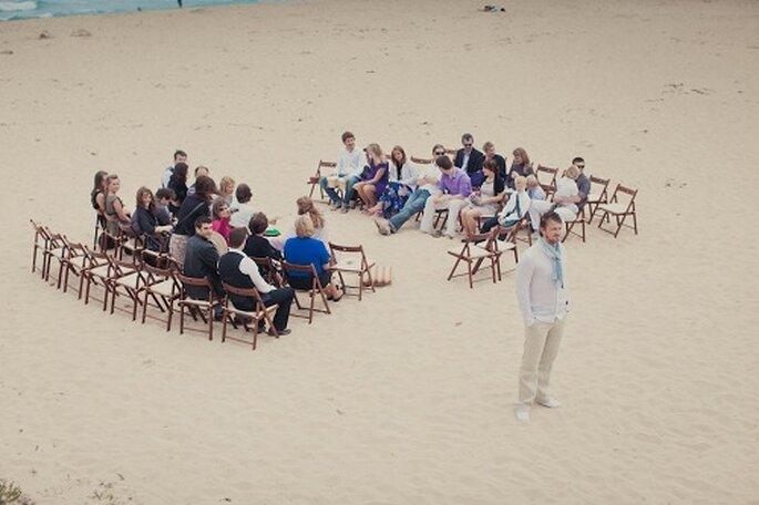 Hochzeit auf Mallorca. Warten auf die Braut - Foto: Nadia Meli.