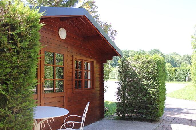 Domaine de la Patulière - chalets de bois confortables où passer la nuit