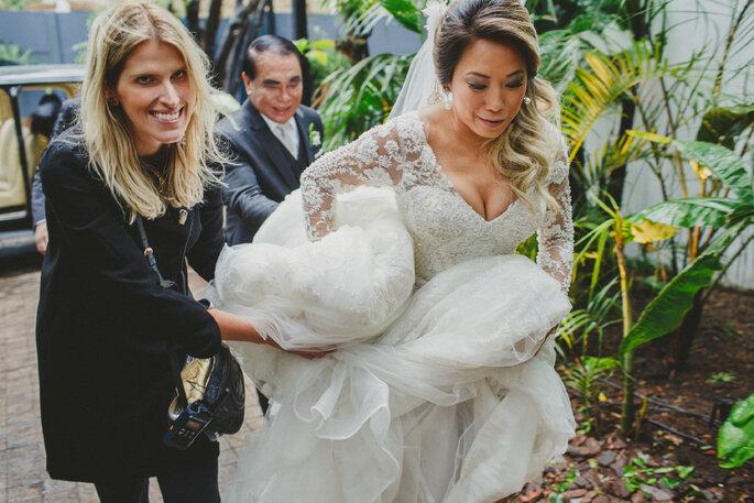 Chegada noiva