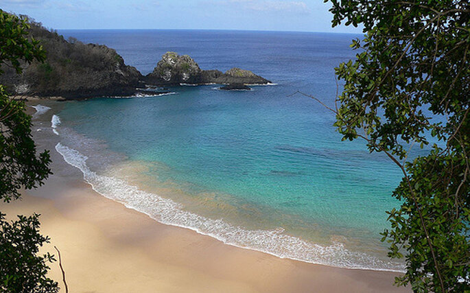 Playa en Brasil
