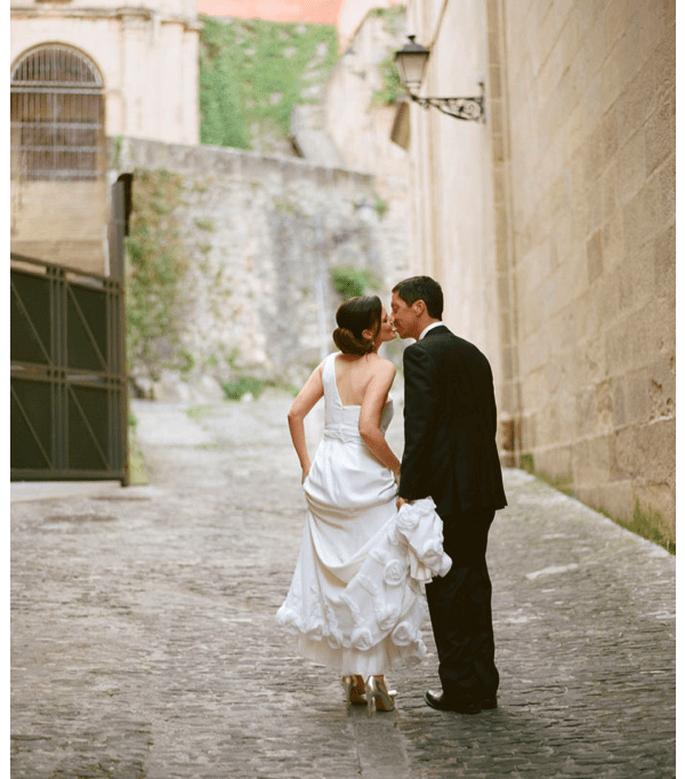 Real Wedding: Una mágica boda en San Sebastián, España - Foto Aaron Delesie