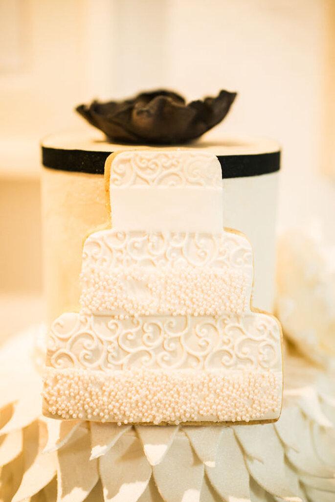 Cook & Cookies Kekse in Hochzeitstorten-Form