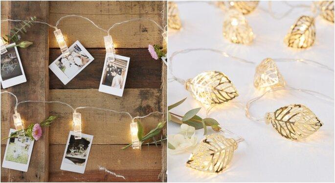 Luces para iluminar bodas