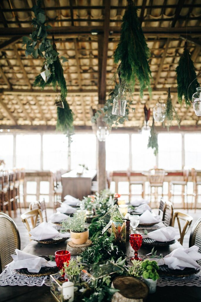 centro mesa casamento