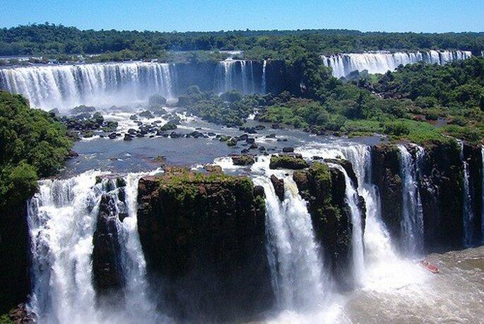 Cascate di Iguazù, tra Argentina e Brasile. Foto www.100viaggi.it