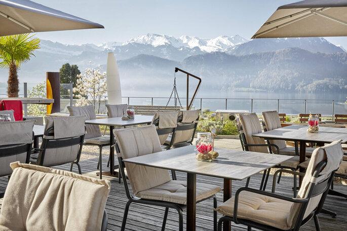 Location für Ihre Hochzeit: Hotel Alpenblick Weggis