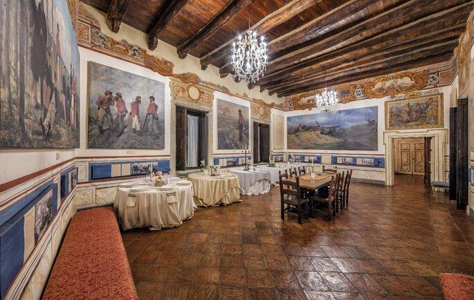 Castello di Limatola - sala interna
