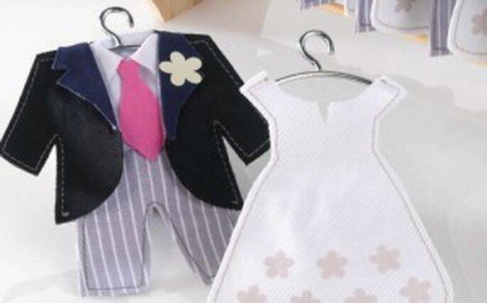 Detalle de  boda - Novios perfumados
