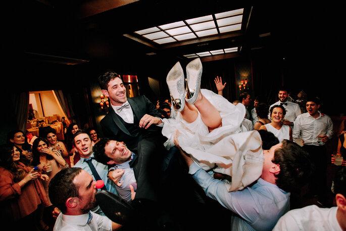 festa de casamento descontraída