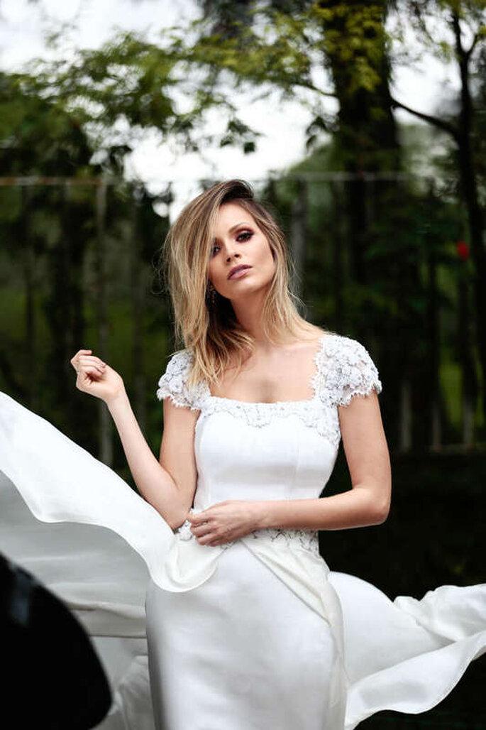 vestido noiva clean