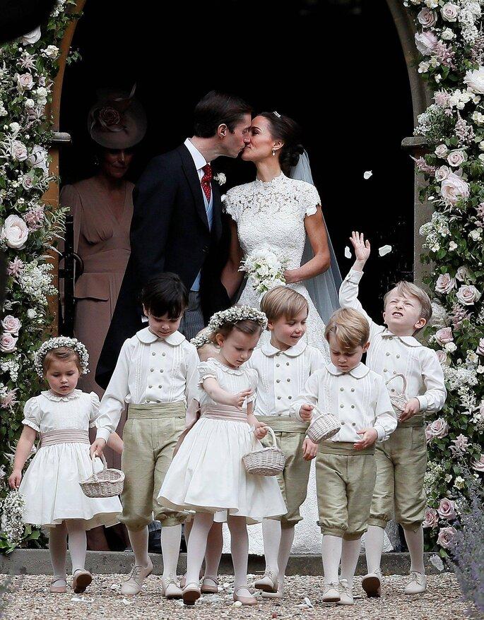 Hochzeit Pippa Middleton & James Matthews.