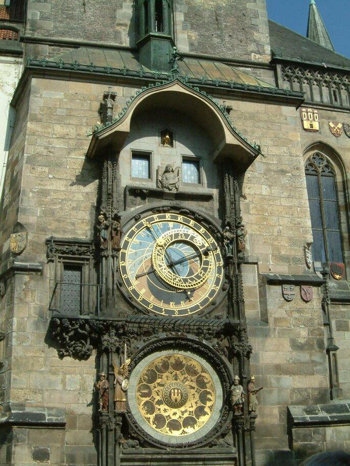 Die astronomische Uhr von Prag