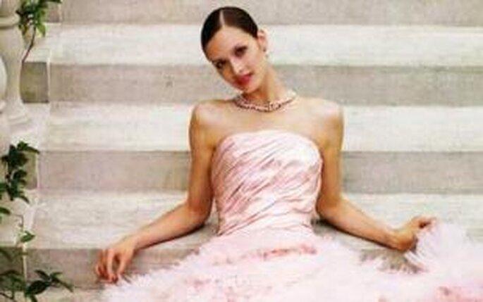 Colección de vestidos rosados 2009
