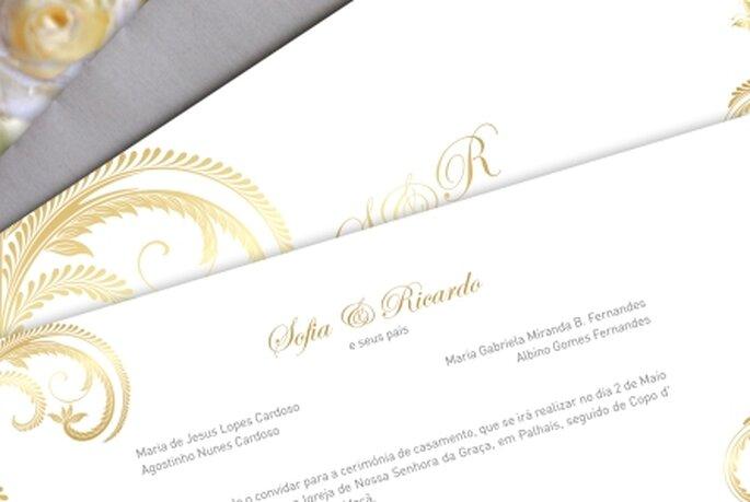 Convites de Casamento Molde Design Weddings