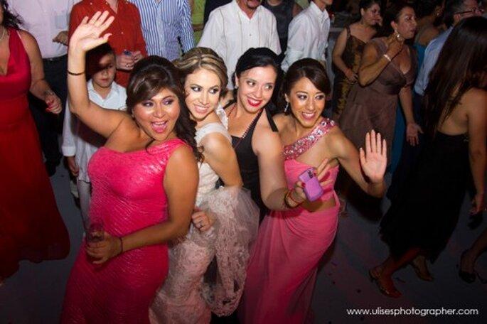 Fiesta de boda. Foto de Ulises Quiñonez
