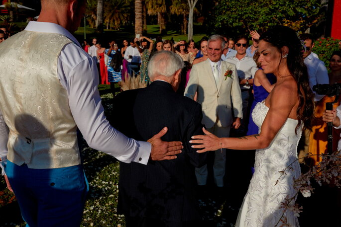 Casamento no jardim em Brasília