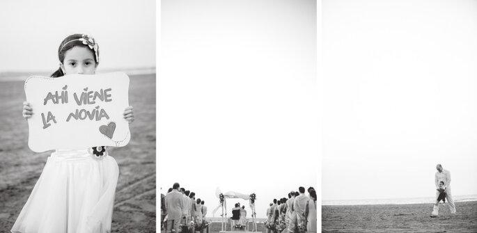 ¡Viene la novia! Foto: Memento Photostudios