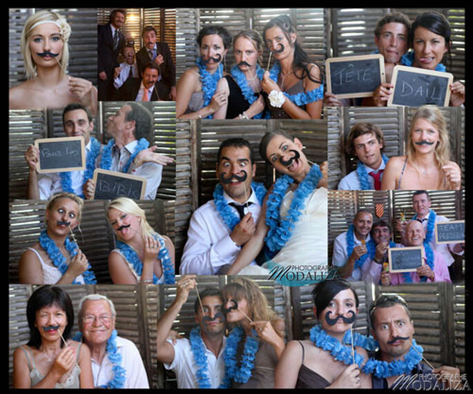 Photobooth, l'animation de mariage incontournable