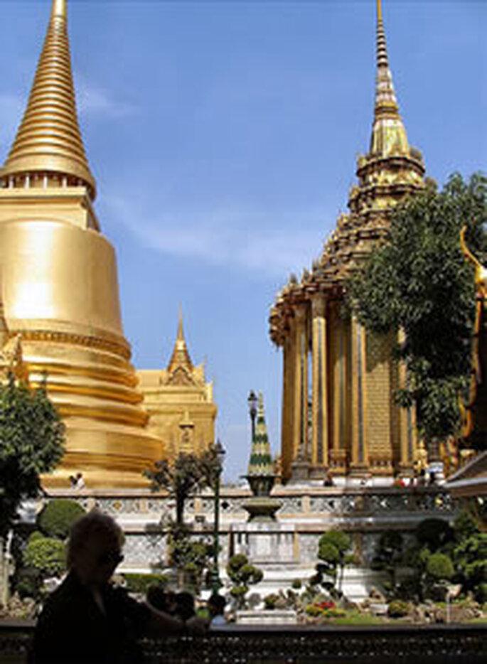 Le temple buddhiste du Wat Phrathat Doi Suthep