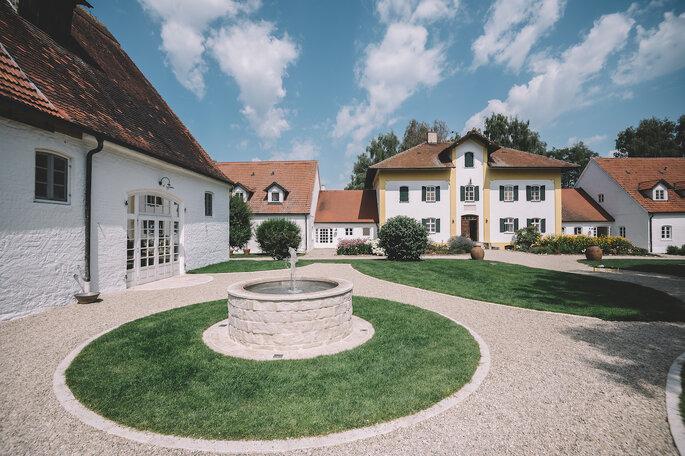 Gut Sedlbrunn Hochzeitslocation Brunnen