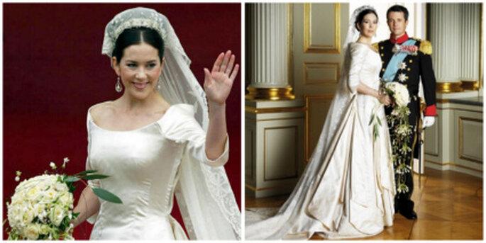Vestido de novia de Mary Donaldson de Dinamarca