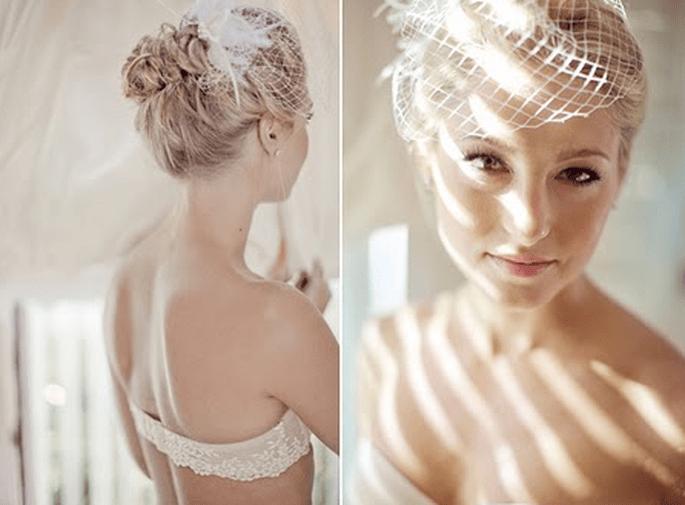 9 accessorios originales para el peinado de novia