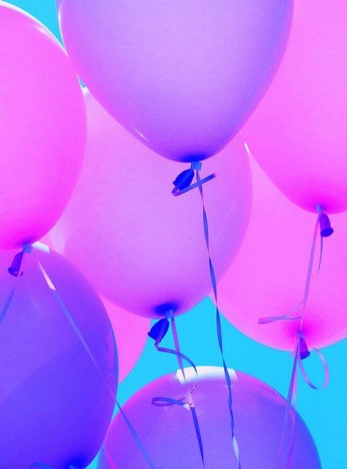 Globos de Pink Sherbet Photografic