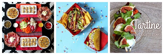Tapas, tacos, tartine. Bonjour Darling