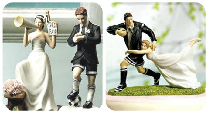 Si el novio es fanático a los deportes de alto impacto como el fútbol o el Rugby esta sería una buena opción