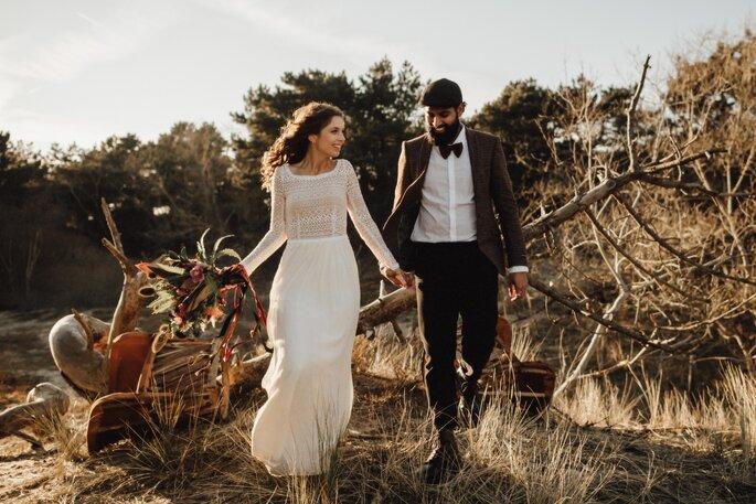 BRUIST. Foto: Kreativ Wedding