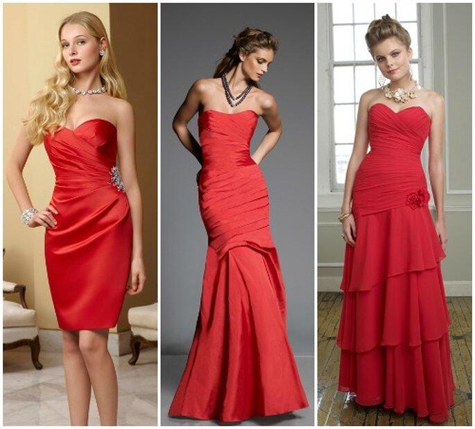 Matrimonio Natalizio Abito : Sposa a natale per le tue damigelle sì ad un abito rosso