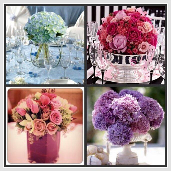 Arreglos florales para tu boda