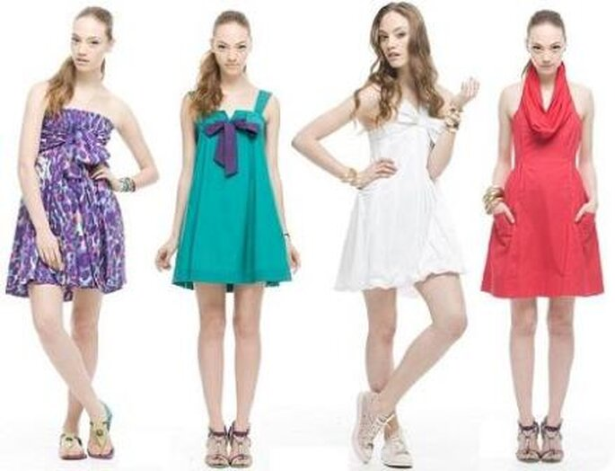 Vestidos para invitadas - Foto Aqui moda