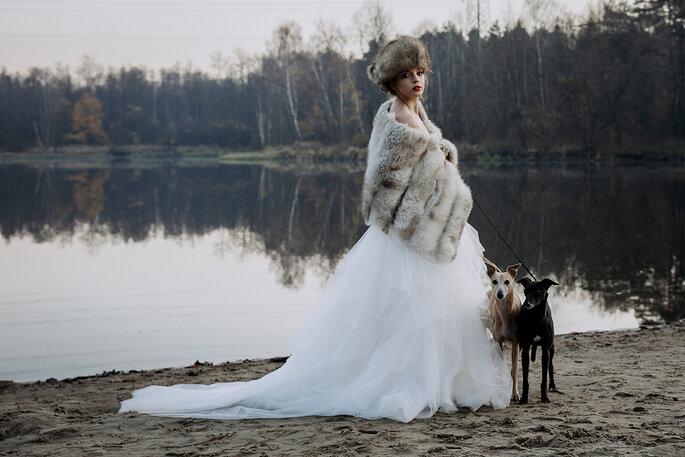 Pomysł/ stylizacja: Magdalena Sawicz/ Whispers of flowers/ fot: Karolina Pyrek / Karolina Pyrek Photography