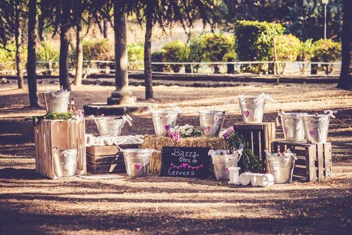 Sin hache y con be wedding planner Segovia