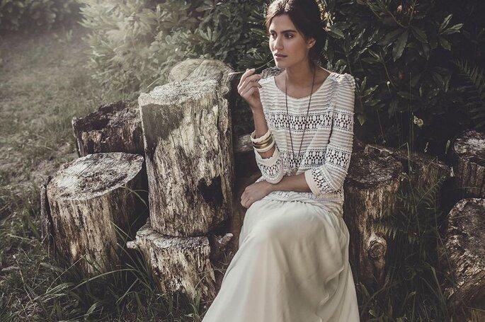 Matrimonio ecologico abiti da sposa