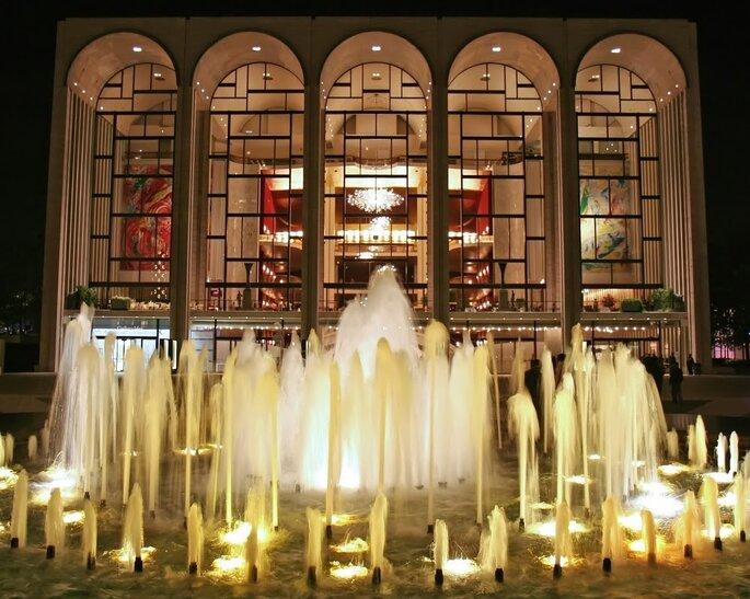 fontanna w NY